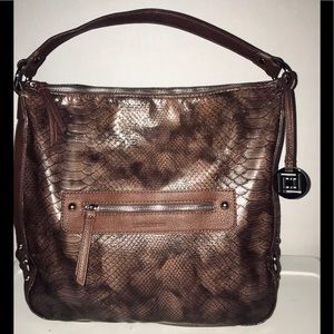 Liz Claiborne Brown Handbag